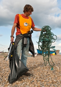 MCS beach cleanup