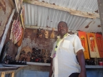 JOEL MBOYA KYANGANGU, Curio seller and Chairman of Nyali Curio Group
