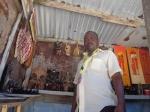 JOEL MBOYA KYANGANGU, Curio seller and Chairman of Nyali Curio Group