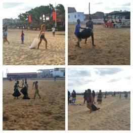 CV beach clean